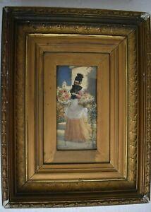 JULES TAVERNIER (1844-1889) Oil Painting on wood, signed