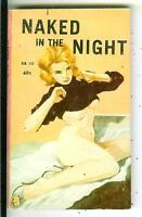 NAKED IN THE NIGHT, rare US Rendezvous Reader sleaze gga pulp vintage pb