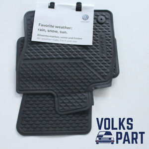 VW VOLKSWAGEN GOLF 7 VII 5G SET 4 TAPPETINI TAPPETI IN GOMMA ORIGINAL 5G1061500A
