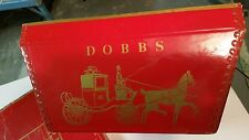 Red Dobbs Fifth Avenue, New York Hat Box Red Fox Hat & Collar