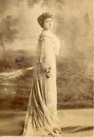 France, Dyanthis, comédienne, actrice  Vintage albumen print,  Tirage albuminé