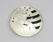 Ron Paul PEACE FREEDOM PROSPERITY 50 AOCS approved .999 Pure 1 oz Silver Medal