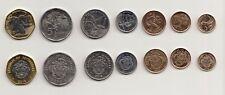 Seychelles Coins Set of 7 denomination, 2016 Series