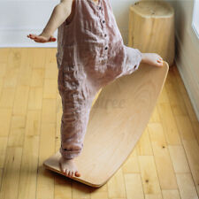 Balance Board Beam Seesaw Wooden Child Kids Exercise Size 80cm AU Stock