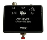automatic CW key with memory, LAMBIC A or B,  ULTIMATIC MORSE code keyer, STM8