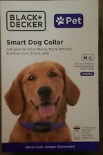 BRAND NEW BLACK + DECKER SMART DOG COLLAR 2 WAY AUDIO GPS TRACKER