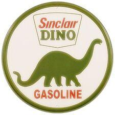 Sinclair Dino Gasoline metal sign    300mm diameter   (de)   Dispatched from UK