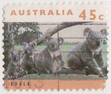 (DC103) 1994 AU 45c koalas (AS)