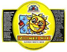 New Holland ZOOMER WIT SUMMER WHITE BEER label MI 12 oz - Var. #1