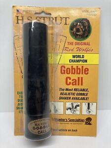 H.S. Strut The Original Red Wolfes World Champion Gobble Call Wild Turkey Call