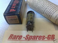 UBF80 MULLARD YELLOW PRINT * VINTAGE VALVE TUBE * NOS & BNIB * FULLY TESTED *