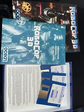 """Robocop 3D game for the Amiga 500, 1000 & 2000. 3.5"""" disk size. Used retail box."""