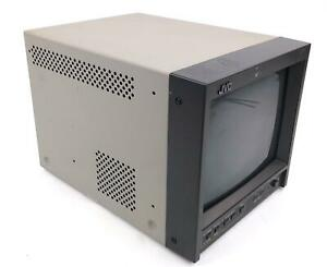 """JVC TM-A101G 9"""" NTSC Broadcast Color CRT Video Monitor - WORKING"""