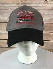 Mattice Lake Outfitters Baseball Cap 2017 Adjustable Gray Armstrong Canada NWOT
