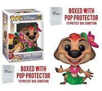 Funko Pop Disney Luau Timo Vinyl Figure #500 with pop protector case