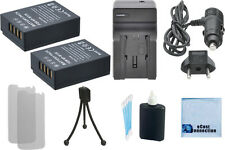 2 NP-W126 Battery + Charger for Fujifilm X-A1 X-A2 X-E1 X-E2 1 X-M1 X-T1 X-T10