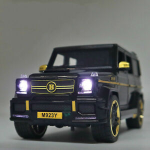 BRABUS G65 SUV Toy Cars Model Scale 1:24 Off-Load Vehicle Mercedes Benz