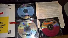 Microsoft Windows NT 4.0 Workstation Operating System & Plus Pack & SP5