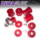 BMW E36 REAR SUBFRAME BUSHES & DIFF Mounts - red DURAFLEX Polyurethane