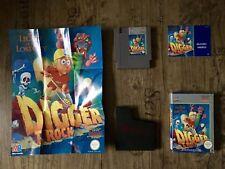 NES DIGGER T ROCK *komplett* OVP Spielanleitung Poster *Top Zustand* Nintendo
