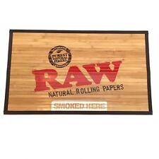 """NEW LIMITED EDITION RAW SMALL BAMBOO ROLL UP DOOR MAT 30"""""""