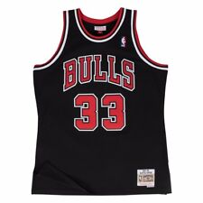 Scottie Pippen Chicago Bulls Mitchell   Ness Swingman Jersey Black L 1c8712212