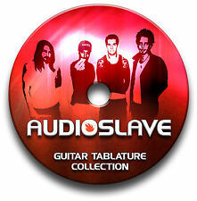 AUDIOSLAVE ROCK GUITAR TAB TABLATURE SONG BOOK TUITION SOFTWARE CD