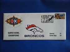 DENVER BRONCOS SUPER BOWL XXXII USPS POSTAL COVER ENVELOPE Super Bowl 32