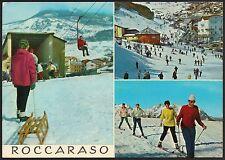 AA1905 L'Aquila - Provincia - Roccaraso - Vedute animate - Sciatori