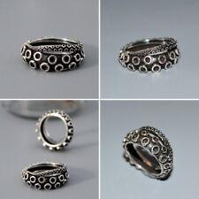Stylish Antique Silver Nautical Octopus Tentacle Sea Kraken Ring Nickel Free 7