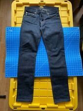 Bravestar Selvedge Denim 14oz Cone Mill Denim Jeans Slim Straight Fit 32X36