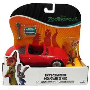 Disney Zootropolis Zootopia Vehicle Nick's Fox Convertible Red Car
