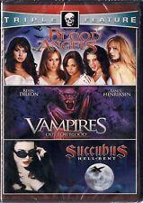 Vampires/Blood Angels/Succubus (DVD, 2011, 2-Disc Set) New