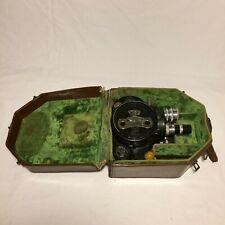Bell & Howell Filmo Camera 70 Model D w/ Lenses & Case
