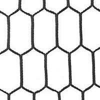 Rete Pallavolo articolo 10/520 dimensioni 9,50 x 1 m, Maglia esagonale 2,5 mm