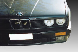 For BMW E30 3 SERIES EYEBROWS HEADLIGHT COVER ABS PLASTIC
