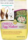Manna Pro Omega Egg Maker | Formulated with Vitamins & Minerals | 5 Pounds