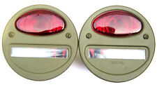 Jeep MB/GPW - Tail Lamp - 12 Volt X 2 - A1064 (Ruby) - NOS -