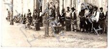 "Vintage RPPC indians""stockade""Schoolcraft centennial celebration,Itasca St.Park#"