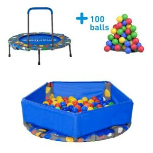 SmarTrike 3 In 1 Activity Centre Trampoline With 100 Balls