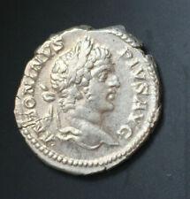CARACALLA Augustus (198-217), AR denarius, 207, Rome