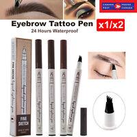 Waterproof Eyebrow Pencil Eye Brow Eyeliner Pen Enhancer Makeup Cosmetic Tool