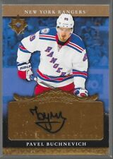16/17 Ultimate Collection 06/07 Retro Auto Rookie Pavel Buchnevich /199 Rangers