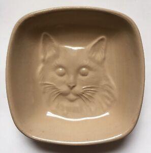 Vintage Mason Cash Square Cat Pet Saucer Bowl Rabbit Small Animal Water Dish