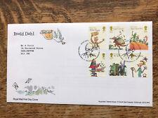 GB FDC 2012 Roald Dahl, Tallents Pmk