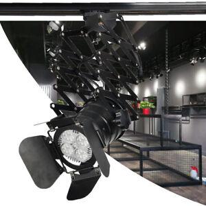 Industrial Loft Style Vintage Retro Design Adjustable Spotlight Ceiling Light BK