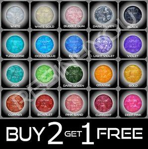 Premium Pearl Shimmer Mica Powder Metallic Epoxy Resin Pigment Dye B2G1FREE