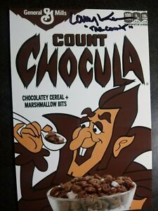 LARRY KENNEY Authentic Hand Signed Autograph 4X6 Photo -VOICE OF COUNT CHOCULA