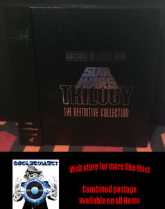 Star Wars Trilogy - The Definitive Collection Box Set