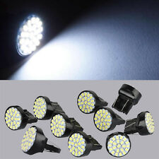 10x Xenon White 7443 7440 7444NA T20 22 SMD Stop Tail Brake LED Light Bulb Lamp